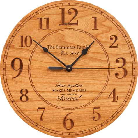 memories that last personalized wall clock clocks