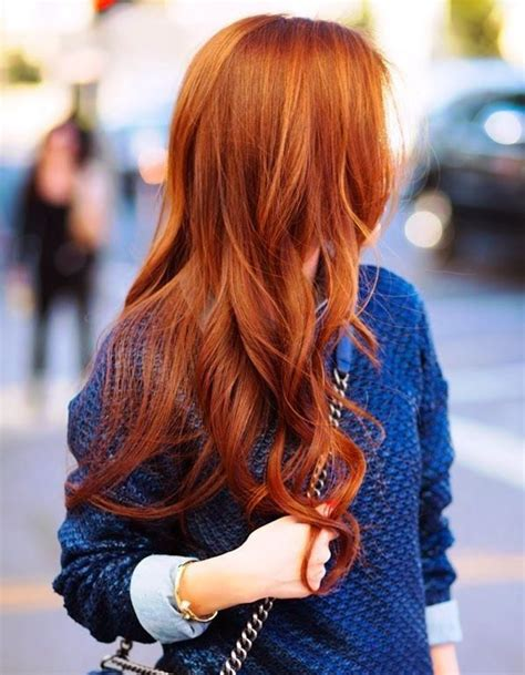 hair trends 2015 summer colour cheveux longs roux coiffure cheveux longs des coupes