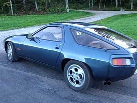 porsche scarface porsche 928 petroleum blau