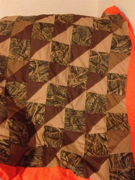 Camo Patchwork Quilt - wetlands camo quilt quilting camo quilt