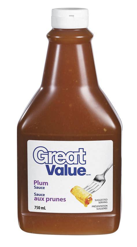 Plumb Sauce Sauce Aux Prunes De Great Value Walmart Canada
