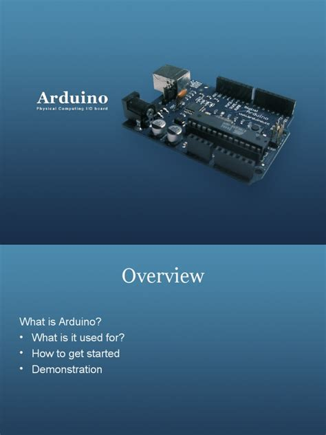 light emitting diode overview arduino ppt arduino light emitting diode