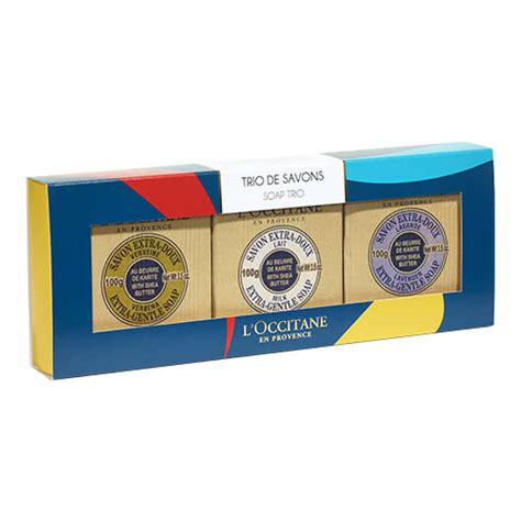 Loccitane Fairtrade Shea Butter Hippyshopper by L Occitane Shea Butter Soap Trio Reviews Free Post