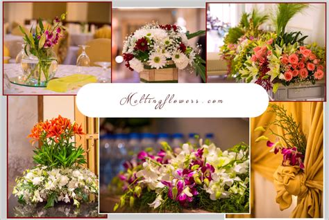 decoration flowers floral decoration for your d day wedding decorations