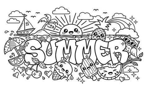 doodle summer summer doodle by bamo crafts on deviantart