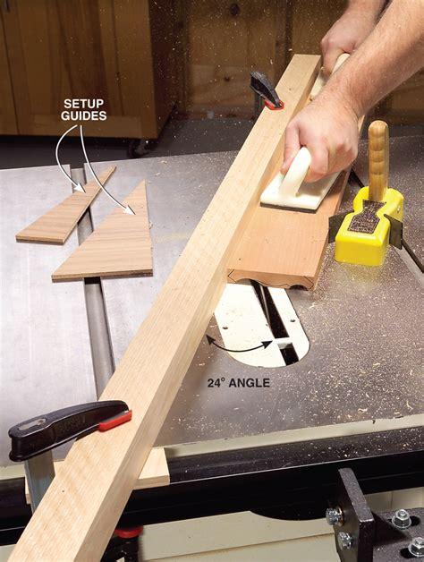 Table Saw Molding Crown Molding Profile Prototype Ent 4410
