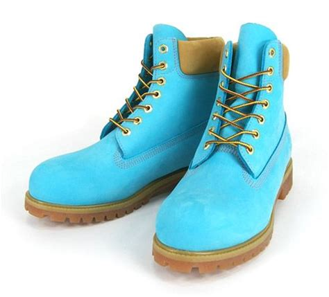 colorful timberland boots pin by dorthe pedersen on aqua