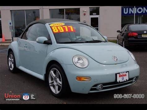 2005 Volkswagen Beetle by 2005 Volkswagen Beetle Convertible 1 8t Turbo Gls
