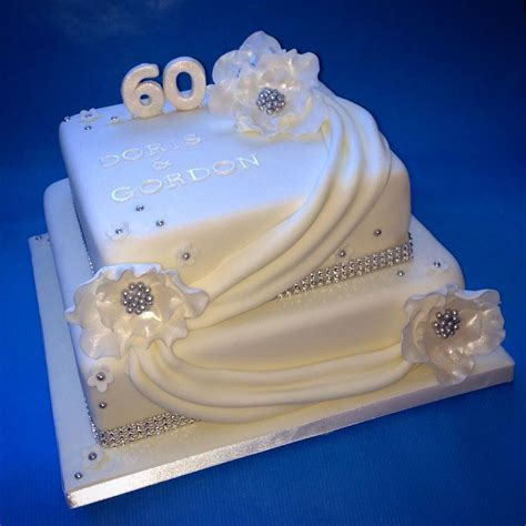 Diamond Wedding Anniversary Cake   cakes I like   Diamond