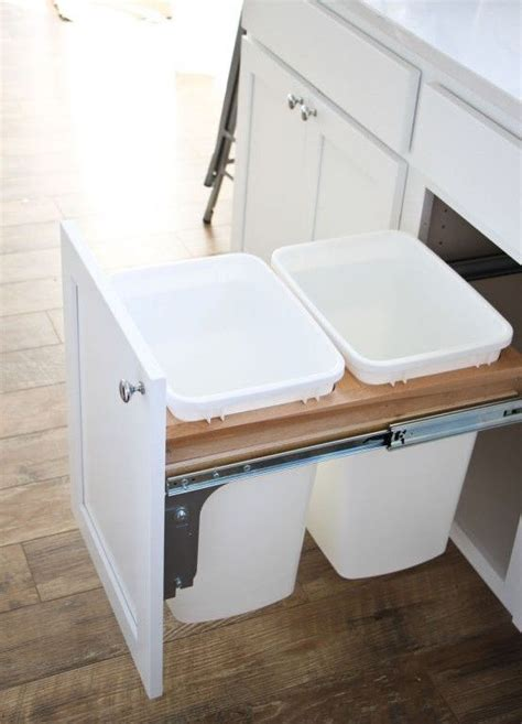 inside cabinet trash can trash can inside cabinet 17 best ideas about trash bins on