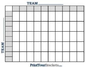 Printable nfl football 50 square grid office pool