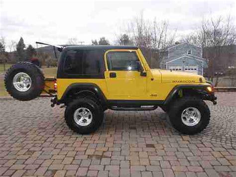 yellow jeep 4 door sell used 2006 jeep wrangler rubicon sport utility 2 door