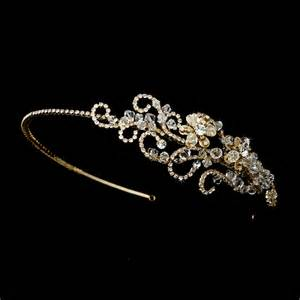 rhinestone headbands swarovski rhinestone flower headband bridal hair accessories