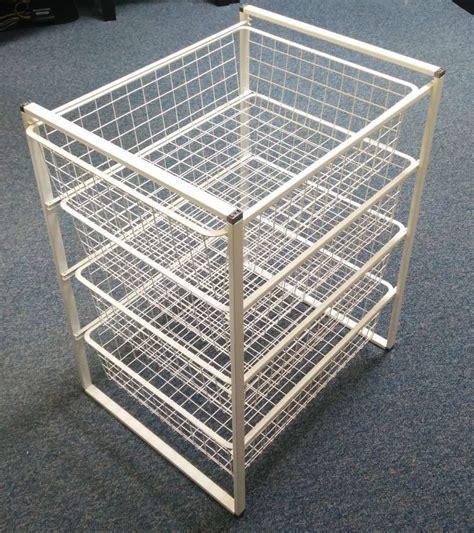 ikea antonius wire basket storage system ebay
