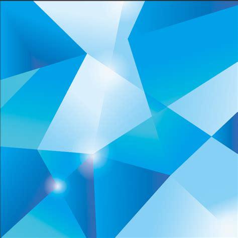 xft light blue geometric triangle polygons pattern