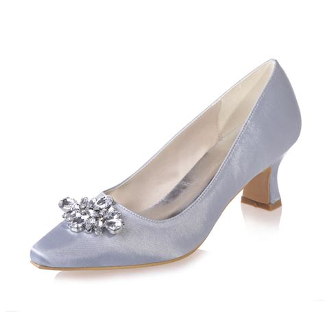 low heel silver prom shoes promotion shop for promotional