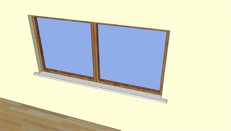 pvc interior window sill how to install a window sill howtospecialist how to