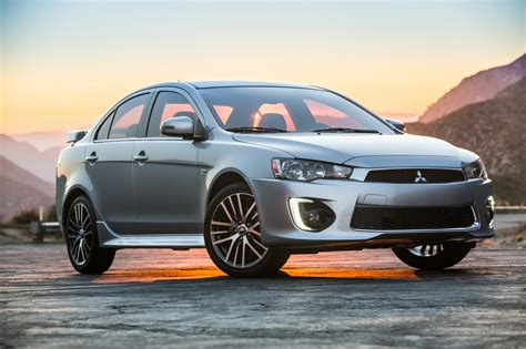 mitsubishi lancer mitsubishi tries to bore us to death with 2016 lancer