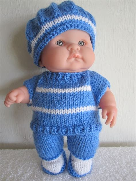 yfwd knitting baby doll knit instant pattern top and tam set