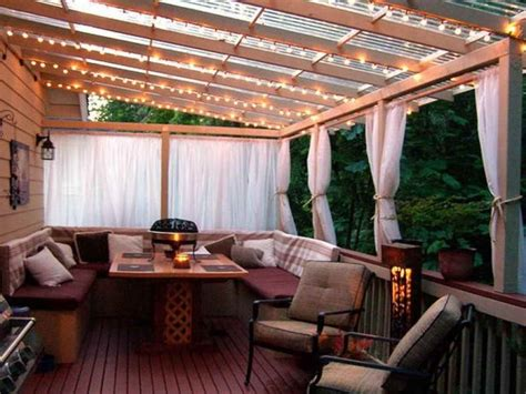 Patio Overhang Designs by Decor Tips Patio Overhang And String Patio Lighting