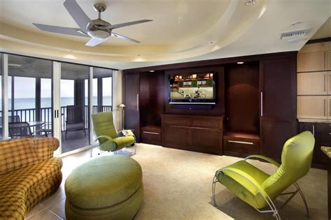 entertainment centers for living rooms miami modern murphy bed living room contemporary with tv