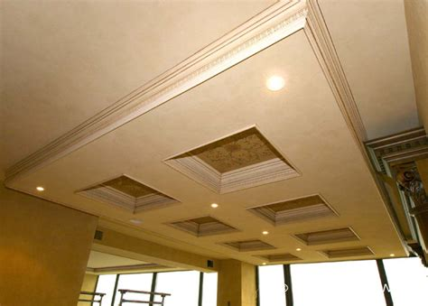 coffered ceilings and beams traditional living room