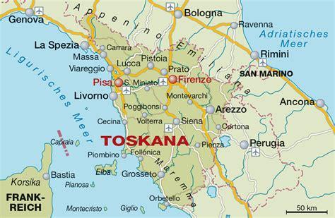 Motorrad Reisekarten Deutschland by Toskana Weinregion Und Weinanbaugebiet In Italien