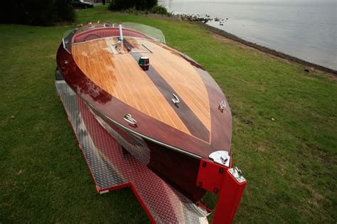 chris craft wooden boats for sale australia for sale 1936 replica chris craft racing runabout home