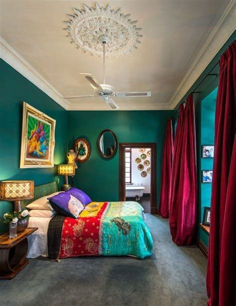 colorful bedroom curtains really teal sherwin williams color ideas pinterest