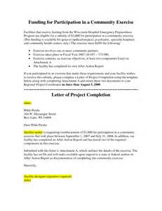 Community Service Letter Of Completion Template Community Service Letter Of Completion Sle