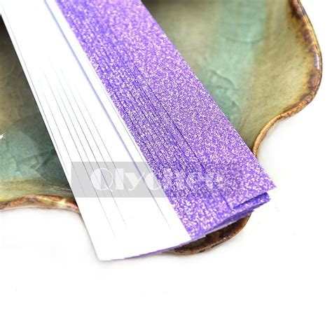Shiny Origami Paper - 20x glitter bling shiny origami paper lucky wish