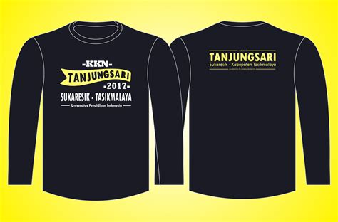 Seragam T Shirt seragam t shirt o neck sablon gl kkn kip s production