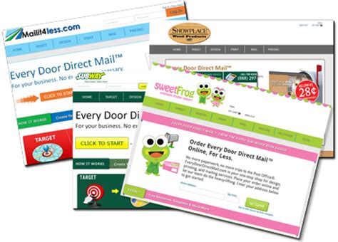 Every Door Direct Mail For Franchisors Now Available Every Door Direct Mail Template