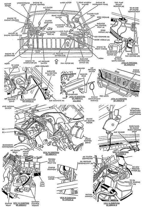 1988 jeep comanche engine wiring diagram for 1988 jeep comanche xj 1988 jeep