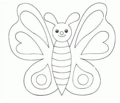 coloring page of butterfly butterfly coloring pages coloringpages1001