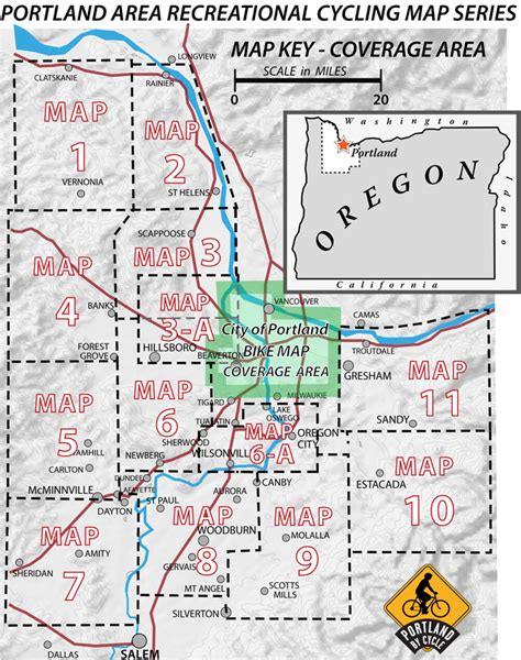 map or portland oregon portland area recreational cycling maps recreational