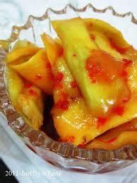 buat manisan mangga kering resep manisan mangga pedas nan lezat