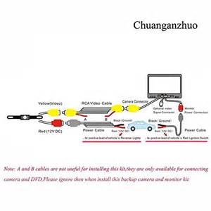 chuanganzhuo license plate cmos backup car accessories rear view backup cameras