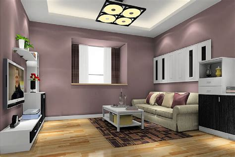 Livingroom Wall Colors by Minimalist Living Room Wall Paint Color 3d House Free