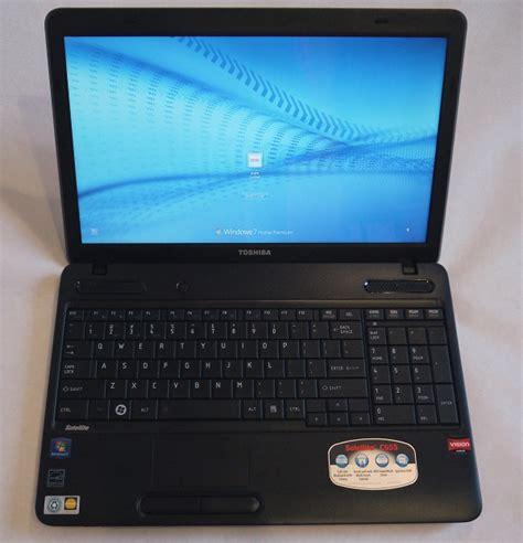 toshiba satellite c655 15 6 quot amd laptop pc w 640gb 6gb wi fi windows 7 ebay