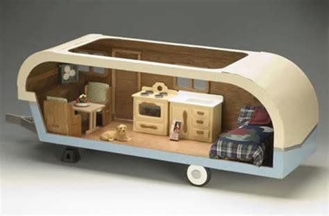 doll house trailer dollhouse miniature travel trailer project dollhouse