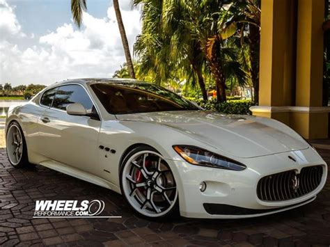maserati forgiato this maserati gran turismo on forgiato rims is cargasmic