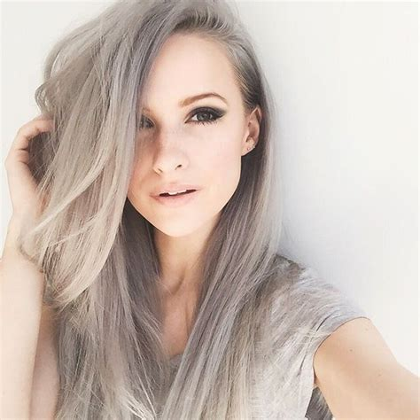 78 best images about trend grey hair on pinterest top 20 gray hair ideas trends grey hair 2016 pinterest