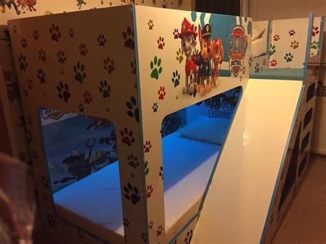 paw patrol sofa bed bunk bed bedding hton convertible loft bed pbteen