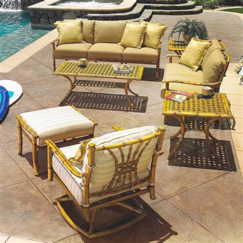 tahiti tiki style deep seating patio set by gensun free