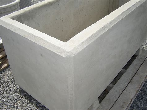 Precast Concrete Planter barrier rectangular planter mackay precast products