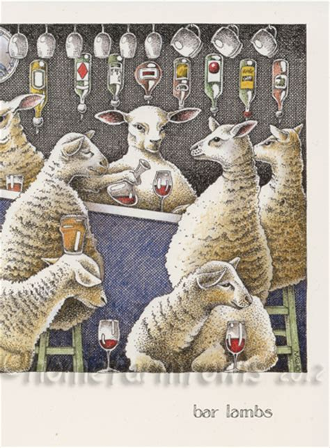 Simon Gift Card Register - simon drew bar lambs greeting card home farm fowls