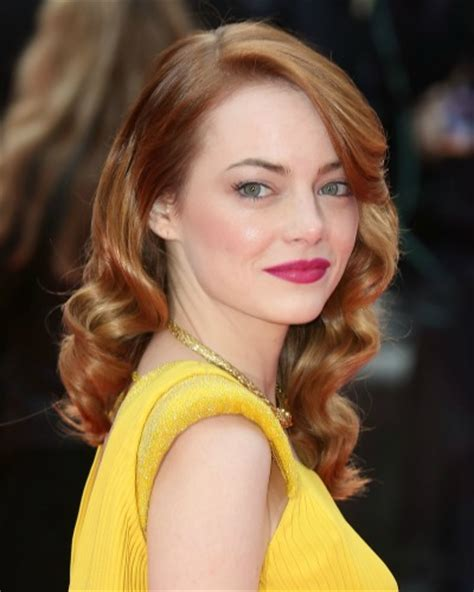 emma stone yellow did emma stone draw on fake freckles a closer look