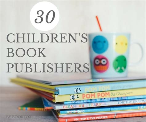 children s picture book publishers accepting unsolicited manuscripts 30 children s book publishers eager for your book