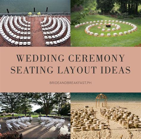 wedding ceremony layout chairs 208 best tips and trends images on pinterest